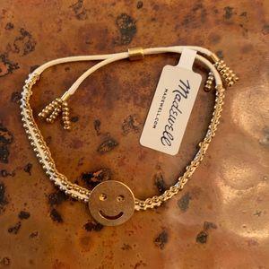NWT Madewell Beaded Slider Bracelet